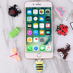 Animal Cartoon Cable Protector for iPhone and Android phones. - Zouhrphonecase