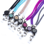 Lightweight Crystal Mobile Phone Holder Mesh Necklace Strap For All Cellphone Brands. - Zouhrphonecase
