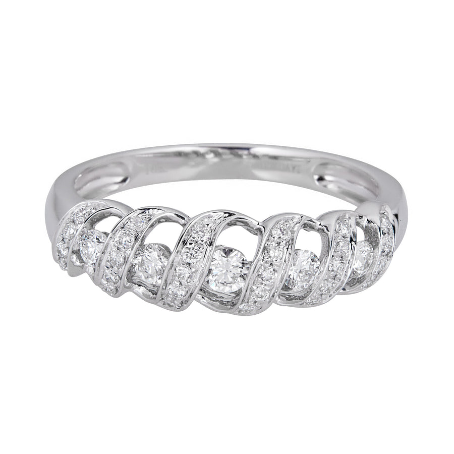 14KW ROUND DIAMOND RING