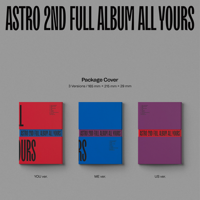 Astro 2nd Full Album 'All Yours'