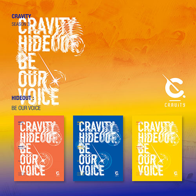 Cravity - Season3. Hideout: Be Our Voice (SEALED)