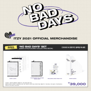 ITZY 'No Bad Days' Set (Diary+Photocard Collecting Book)
