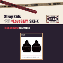 Load image into Gallery viewer, [PREORDER] Stray Kids 1st #LoveSTAY SKZ-X Fanmeeting Goods - Anorak
