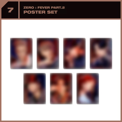 [PREORDER] ATEEZ x SUBK SHOP EXCLUSIVE: OFFICIAL MD - Poster Set