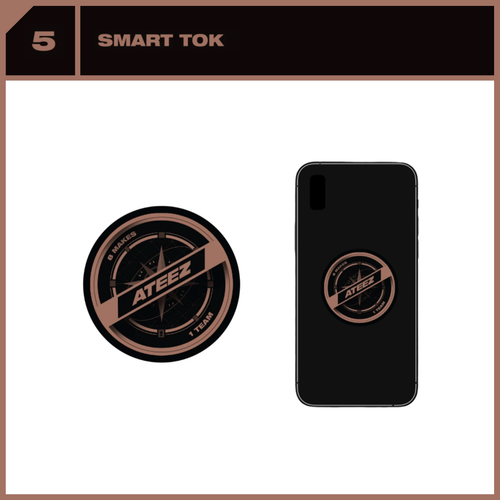 [PREORDER] ATEEZ x SUBK SHOP EXCLUSIVE: OFFICIAL MD - Smart Tok