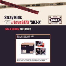 Load image into Gallery viewer, Stray Kids 1st #LoveSTAY SKZ-X Fanmeeting Goods - Postcard & ID Card File Set