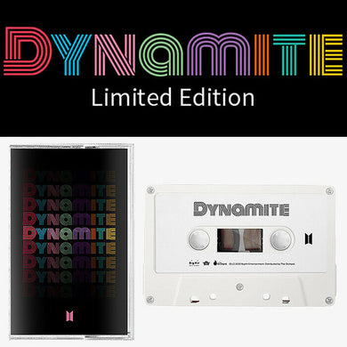 BTS 'Dynamite' Limited Edition Cassette Tape