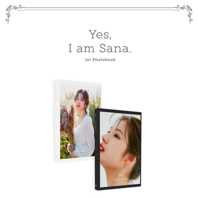 Twice : SANA 1st Photobook - YES, I AM SANA.