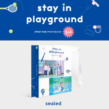 Load image into Gallery viewer, Stray Kids Stay in Playground Photobook (SEALED)