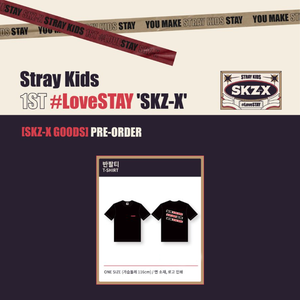 Stray Kids 1st #LoveSTAY SKZ-X Fanmeeting Goods - T-shirt