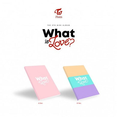 TWICE 'What is Love?' (SEALED)