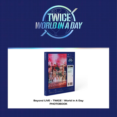 Twice Beyond LIVE - TWICE : World in A Day Photobook (SEALED)