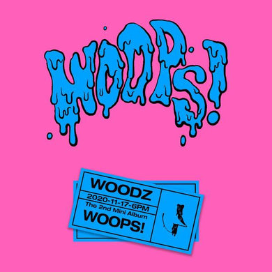 Woodz 2nd Mini Album WOOPS! (SEALED)