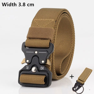 Military Tactical Canvas Belt
