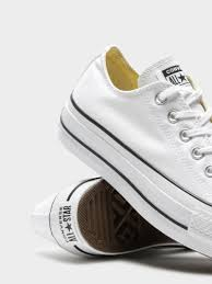Converse Chuck Taylor Lift Canvas Low White