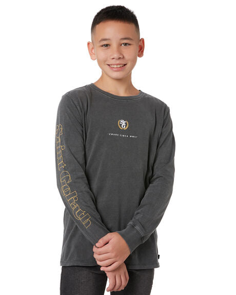 St Goliath Boys Benson Ls Tee - Teens