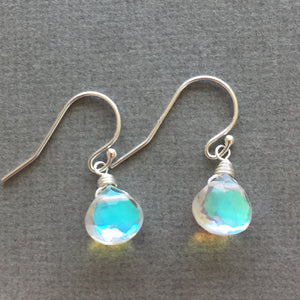 Fire Opal Teeny in Seafoam