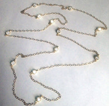 Load image into Gallery viewer, Oscar, Oscar Faux Diamonds by the Yard Necklace inspired by Kimmie and Jennifer Lawrence