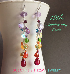 Anniversary Dangle Earrings, limited quantity