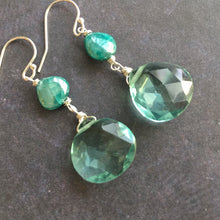 Load image into Gallery viewer, Aquamarine Drops, OOAK