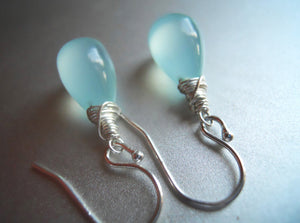 Smooth Blues Earrings