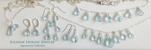 Load image into Gallery viewer, Aquamarine Dream Teenie Earrings