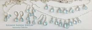 Aquamarine Dream Teenie Earrings
