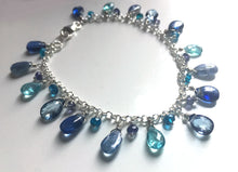 Load image into Gallery viewer, Neon Apatite Companion bracelet to Blue Is Your Color Bracelet