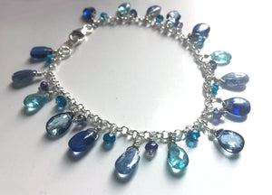 Neon Apatite Companion bracelet to Blue Is Your Color Bracelet