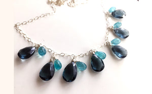 Blues Lady Necklace