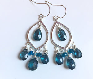 Captivating Kyanite Earrings