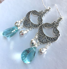 Load image into Gallery viewer, Coquette Chandelier Earrings, VERY LIMITED quantity
