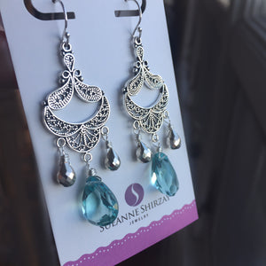 Coquette Chandelier Earrings, VERY LIMITED quantity