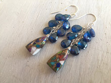 Load image into Gallery viewer, Cozumel Dangle Earrings OOAK restocked