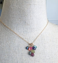Load image into Gallery viewer, carnelian garnet necklace