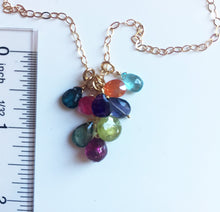 Load image into Gallery viewer, Double Rainbow Necklace- Limited quantity available