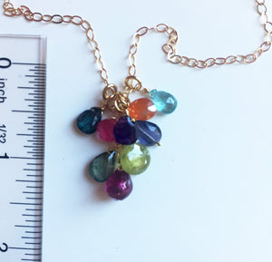 Double Rainbow Necklace- Limited quantity available