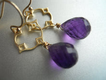 Load image into Gallery viewer, Mini Mo Amethyst Moroccan Necklace