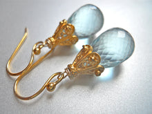 Load image into Gallery viewer, Raindrop Earrings - Gold Empire
