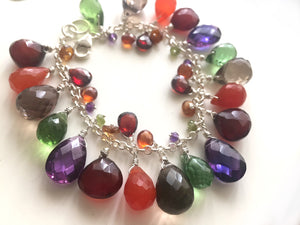 Fall Colors Statement Bracelet - One more available