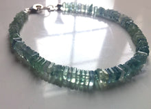 Load image into Gallery viewer, Fluorite Heishi Bracelet