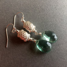 Load image into Gallery viewer, Fluorite Dangles OOAK