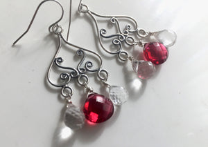 Fun Girl Chandelier Earrings