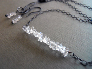 Girl's Best Friend Herkimer Diamond Necklace