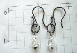 Girl's Best Friend Herkimer Diamond EARRINGS