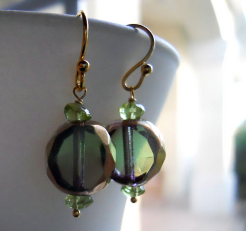 Green Breeze Earrings