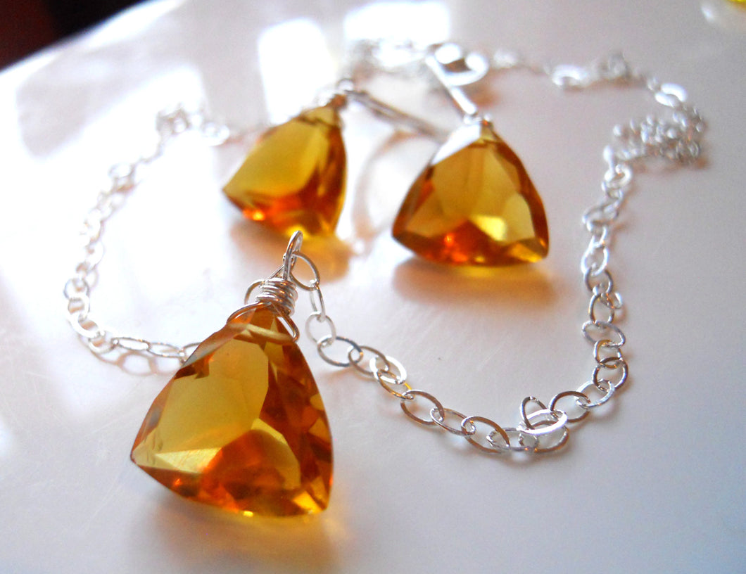 Trillionaire Necklace - Honey