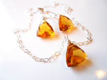 Load image into Gallery viewer, Trillionaire Necklace - Honey