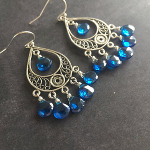 Color of the Year 2020 STERLING Filigree Earrings
