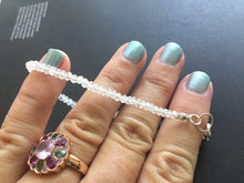 Load image into Gallery viewer, Simple Rainbow Moonstone Bracelet